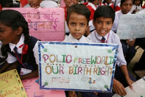 Polio Immunization in Lucknow