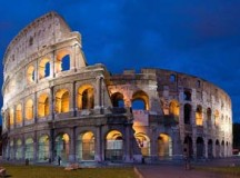 The Colosseum in Rome is one of the most recognizable buildings in the planet, day or night. Image: Diliff