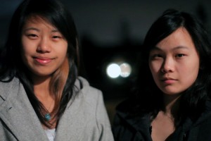 Dorothy Chen and Sara Ma; image: You Tube Space Lab Contest website