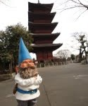 The gnome in Japan