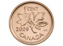 Canadian penny; Image: Royal Canadian Mint