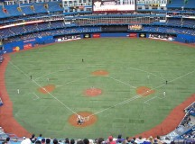 The Rogers Centre where the Blue Jays play