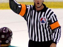 Hockey referee; image Rick Dikeman