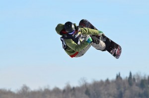 Slopestyle at the 2013 Snowjamboree in Quebec. Image: Letartean