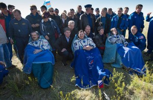 Hadfield Arrives Back On Earth; Videos From His Incredible Journey