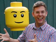 Christoph Bartneck, University of Canterbury, is researching Lego's mini-figures.