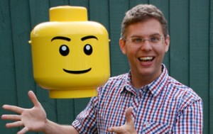 Christoph Bartneck is researching Lego's minifigures. Image: University of Canterbury, Christchurch, New Zealand