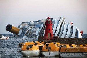 Collision of the Costa Concordia. Image: Rvongher
