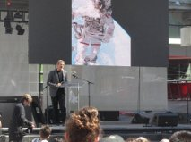 Chris Hadfield at Freedom Day