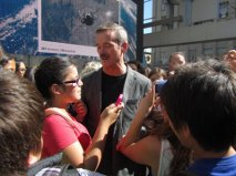 Chris Hadfield at Freedom Day 2013; image: Bennett Duncan