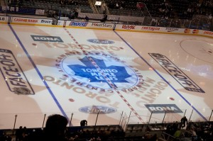 The home of the Toronto Maple Leafs: The Air Canada Center. Image: Sumanch