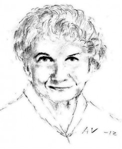 Portrait of Alice Munro. Image: Hogne