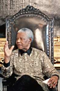 Nelson Mandela in 1998. Image: Arquivo/ABr.