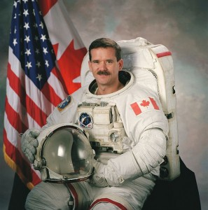 Chris Hadfield. Image: NASA