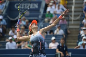 Eugenie Bouchard at the US Open in 2013. Image: Edwin Martinez