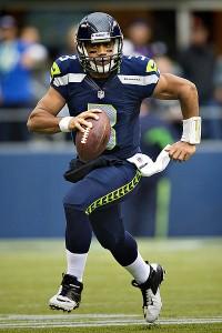 Seahawks quarterback, Russell Wilson. Image: Wikipedia