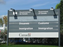 Immigration sign in Canada. Image: TheTruthAbout...