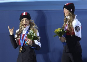 The Lafour Dupointe Sisters. Image: Canadian Olympic Committee