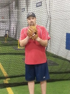 Ryan Armstrong is the head pitching coach of the Baseball Zone in Mississauga. Image: Joyce Grant