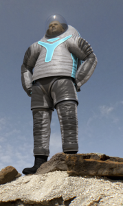 The Mars Z-2 spacesuit; Image: NASA