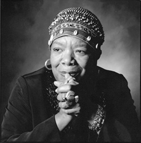 Maya Angelou. Image: Adria Richards