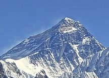Mt. Everest. Image: Rdevany