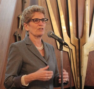 Kathleen Wynne, April 2014. Image: Uiaeli