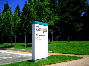 Sign outside the Google office in California. Image: Surka
