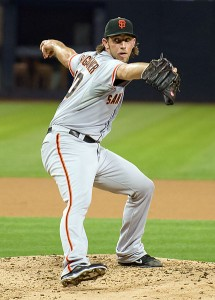 San Francisco Giants pitcher, Madison Bumgarner. Image: SD Dirk