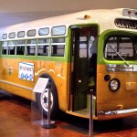 The bus on which Rosa Parks refused to give up her seat. Image: Rmhermen