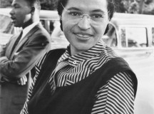 Rosa Parks. Image: National Archives and Records Administration Records of the U.S. Information Agency Record