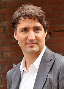 Justin Trudeau in 2014. Image: Tholden28