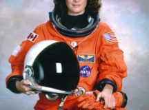 Julie Payette, 2006. Image:  NASA