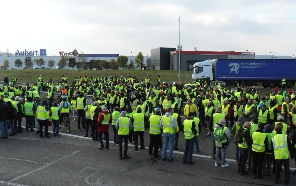 Yellow Vest Protests Continue In France Teaching Kids News