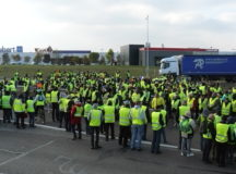 yellow vest protest Farnce 2018