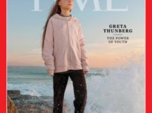 Time Magazine cover showing Greta Thunberg, Time's Person of the Year 2019